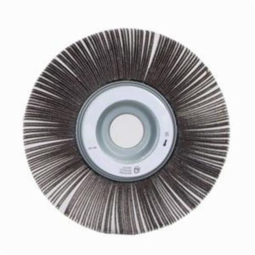 Norton® Merit® 08834120198 EC-062 Economy Unmounted Coated Flap Wheel, 6 in Dia, 2 in W Face, P100 Grit, Medium Grade, Aluminum Oxide Abrasive