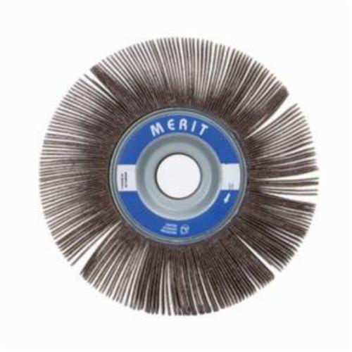 Merit® Grind-O-Flex™ 08834122003 XX-3510 High Performance Unmounted Coated Flap Wheel, 3-1/2 in Dia, 1 in W Face, P60 Grit, Coarse Grade, Aluminum Oxide Abrasive