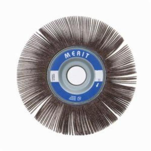 Norton® Merit® Grind-O-Flex™ 08834122009 XX-3510 High Performance Unmounted Coated Flap Wheel, 3-1/2 in Dia, 1 in W Face, P320 Grit, Extra Fine Grade, Aluminum Oxide Abrasive