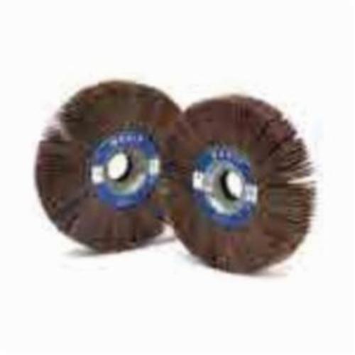 Norton® Merit® Grind-O-Flex™ 08834122035 XX-4010 High Performance Unmounted Coated Flap Wheel, 4 in Dia, 1 in W Face, P80 Grit, Medium Grade, Aluminum Oxide Abrasive