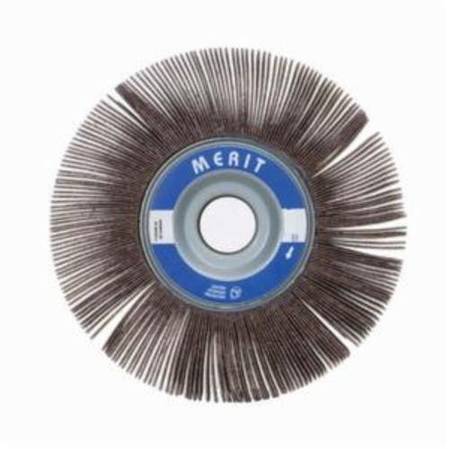 Merit® Grind-O-Flex™ 08834122137 XX-0605 High Performance Unmounted Coated Flap Wheel, 6 in Dia, 1/2 in W Face, P320 Grit, Extra Fine Grade, Aluminum Oxide Abrasive