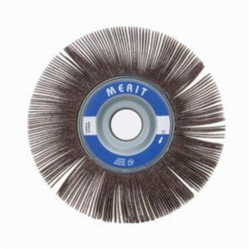 Merit® Grind-O-Flex™ 08834122273 XX-122 High Performance Unmounted Coated Flap Wheel, 12 in Dia, 2 in W Face, P240 Grit, Very Fine Grade, Aluminum Oxide Abrasive