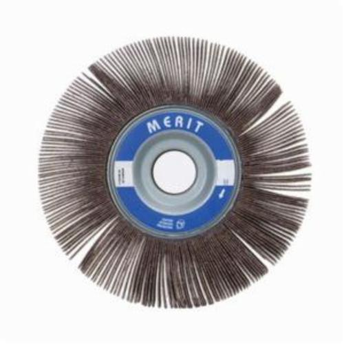Merit® Grind-O-Flex™ 08834123004 XX-0605 High Performance Unmounted Coated Flap Wheel, 6 in Dia, 1/2 in W Face, P80 Grit, Medium Grade, Aluminum Oxide Abrasive