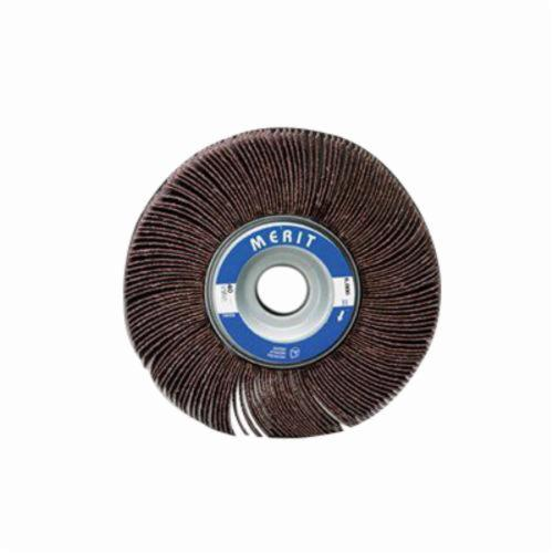 Merit® Grind-O-Flex™ 08834123007 XX-0605 High Performance Unmounted Coated Flap Wheel, 6 in Dia, 1/2 in W Face, P240 Grit, Very Fine Grade, Aluminum Oxide Abrasive