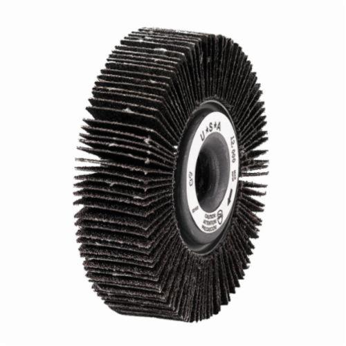 Merit® Grind-O-Flex™ 08834123014 XX-061 High Performance Unmounted Coated Flap Wheel, 6 in Dia, 1 in W Face, P120 Grit, Medium Grade, Aluminum Oxide Abrasive