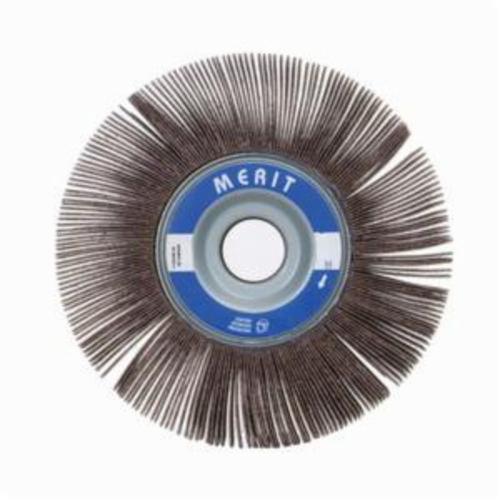 Norton® Merit® Grind-O-Flex™ 08834123023 XX-0615 High Performance Unmounted Coated Flap Wheel, 6 in Dia, 1-1/2 in W Face, P80 Grit, Medium Grade, Aluminum Oxide Abrasive