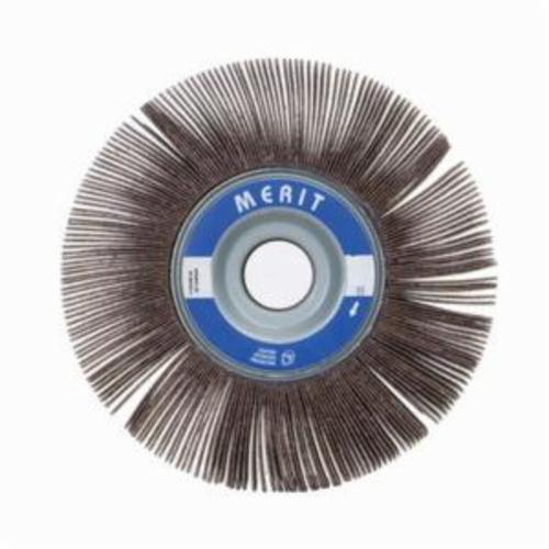 Merit® Grind-O-Flex™ 08834123026 XX-0615 High Performance Unmounted Coated Flap Wheel, 6 in Dia, 1-1/2 in W Face, P150 Grit, Fine Grade, Aluminum Oxide Abrasive