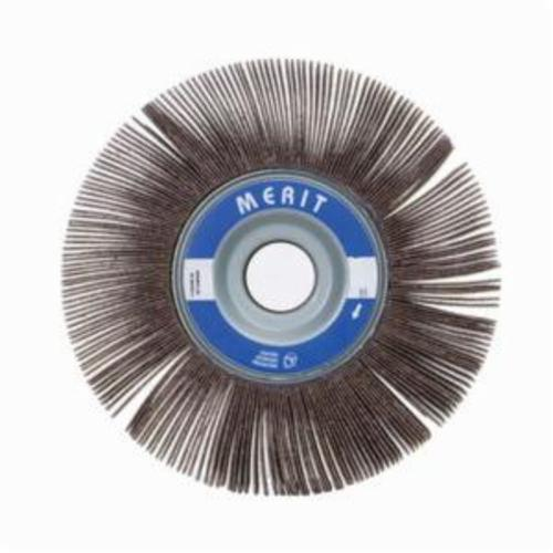 Merit® Grind-O-Flex™ 08834123027 XX-0615 High Performance Unmounted Coated Flap Wheel, 6 in Dia, 1-1/2 in W Face, P180 Grit, Fine Grade, Aluminum Oxide Abrasive