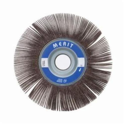 Merit® Grind-O-Flex™ 08834123029 XX-0615 High Performance Unmounted Coated Flap Wheel, 6 in Dia, 1-1/2 in W Face, P320 Grit, Extra Fine Grade, Aluminum Oxide Abrasive