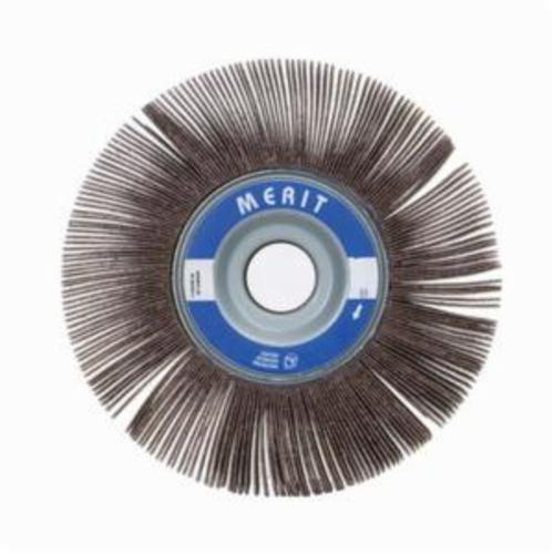 Merit® Grind-O-Flex™ 08834123077 XX-081 High Performance Unmounted Coated Flap Wheel, 8 in Dia, 1 in W Face, P180 Grit, Fine Grade, Aluminum Oxide Abrasive