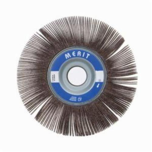 Merit® Grind-O-Flex™ 08834123092 XX-082 High Performance Unmounted Coated Flap Wheel, 8 in Dia, 2 in W Face, P40 Grit, Extra Coarse Grade, Aluminum Oxide Abrasive