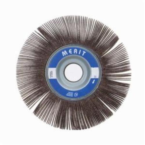 Norton® Merit® Grind-O-Flex™ 08834123099 XX-082 High Performance Unmounted Coated Flap Wheel, 8 in Dia, 2 in W Face, P180 Grit, Fine Grade, Aluminum Oxide Abrasive