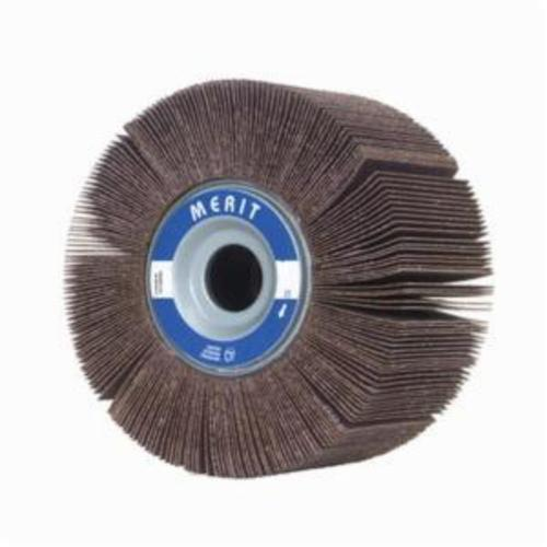 Merit® Grind-O-Flex™ 08834135051 XX-3020 High Performance Unmounted Coated Flap Wheel, 3 in Dia, 2 in W Face, P80 Grit, Medium Grade, Aluminum Oxide Abrasive