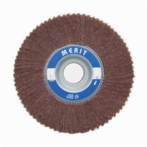 Norton® Merit® Bear-Tex® 08834139000 Non-Woven Flap Wheel, 3 in Dia, 2 in W Face, 60 Grit, Very Fine Grade, Aluminum Oxide Abrasive