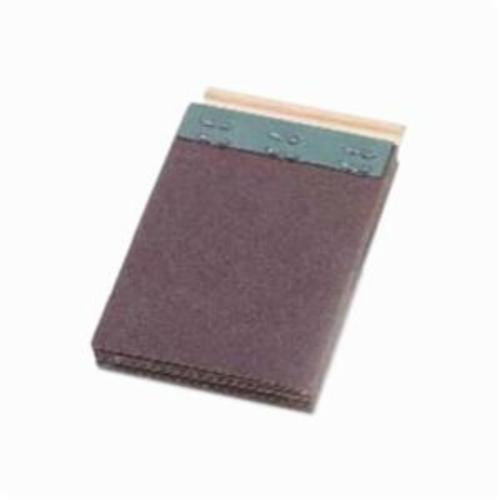 Merit® FlexDrum™ 08834155028 Plain Abrasive Segment, 2-3/4 in W x 3 in W, 100 Grit, Premium Aluminum Oxide Abrasive