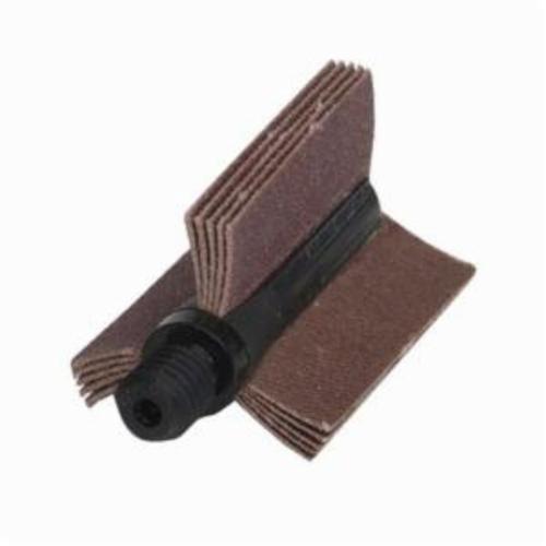 Norton® Merit® 08834154092 B-405 5-Ply Plain Flap Coated Bore Polisher, 1-1/2 in ID x 1-3/4 in OD Dia, P80 Grit, Medium Grade, Aluminum Oxide Abrasive