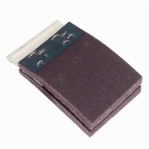 Merit® FlexDrum™ 08834155014 Plain Abrasive Segment, 2-3/4 in W x 2 in W, 60 Grit, Medium Grade, Premium Aluminum Oxide Abrasive