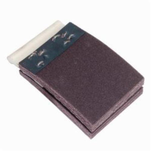 Merit® FlexDrum™ 08834155027 Plain Abrasive Segment, 2-3/4 in W x 3 in W, 80 Grit, Premium Aluminum Oxide Abrasive