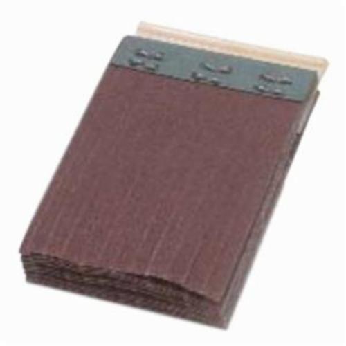Merit® FlexDrum™ 08834155082 Scored Abrasive Segment, 2-3/4 in W x 1-1/2 in W x 1/4 in THK, 50 Grit, Premium Aluminum Oxide Abrasive