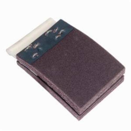 Merit® FlexDrum™ 08834155316 Plain Abrasive Segment, 4 in W x 2 in W, 120 Grit, Premium Aluminum Oxide Abrasive