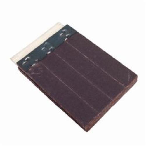 Norton® Merit® FlexDrum™ 08834155447 Slashed Abrasive Segment, 4 in H x 4 in W x 1/2 in THK, 120 Grit, Premium Aluminum Oxide Abrasive