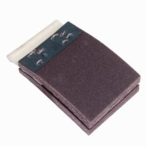 Merit® FlexDrum™ 08834155568 Plain Abrasive Segment, 5 in W x 2 in W, 60 Grit, Premium Aluminum Oxide Abrasive