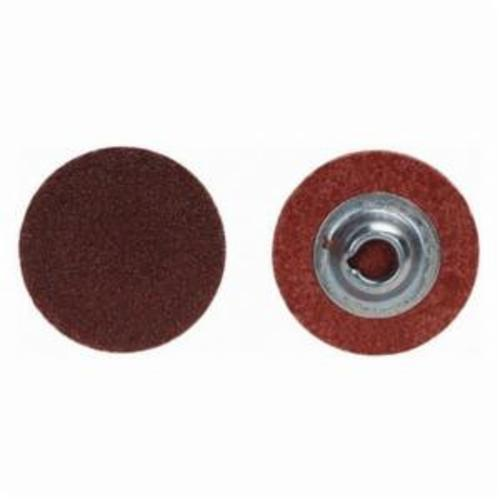 Norton® Merit® 69957399648 Coated Abrasive Quick-Change Disc, 2 in Dia, 320 Grit, Extra Fine Grade, Aluminum Oxide Abrasive, Type TS (Type II) Attachment