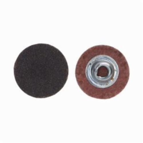 Merit® PowerLock® FlexEdge™ 08834160395 ALO Flexible Coated Abrasive Quick-Change Disc, 1 in Dia, 80 Grit, Coarse Grade, Aluminum Oxide Abrasive, Type TS (Type II) Attachment