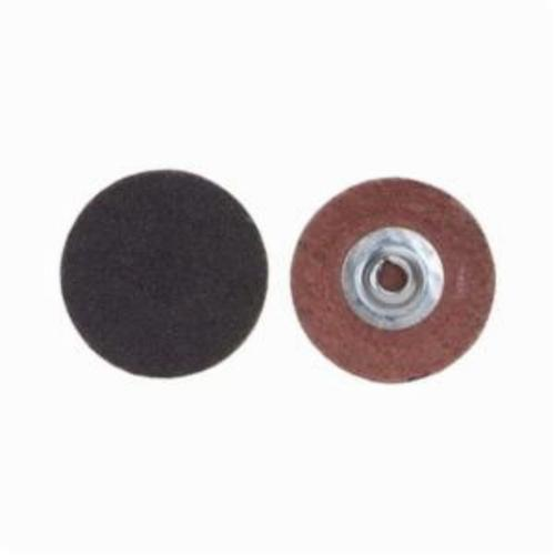 Norton® Merit® PowerLock® FlexEdge™ 08834160399 ALO Flexible Coated Abrasive Quick-Change Disc, 1-1/2 in Dia, 80 Grit, Coarse Grade, Aluminum Oxide Abrasive, Type TS (Type II) Attachment