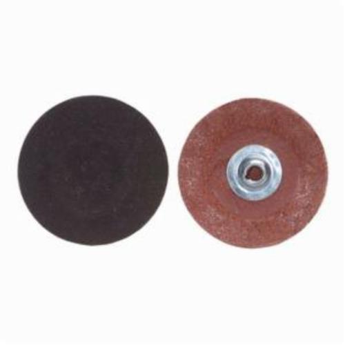 Merit® PowerLock® FlexEdge™ 08834160405 ALO Flexible Coated Abrasive Quick-Change Disc, 2 in Dia, 180 Grit, Fine Grade, Aluminum Oxide Abrasive, Type TS (Type II) Attachment