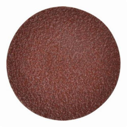 Merit® 69957399644 Coated Abrasive Quick-Change Disc, 2 in Dia, 120 Grit, Medium Grade, Aluminum Oxide Abrasive, Type TS (Type II) Attachment