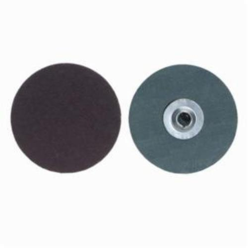 Merit® PowerLock® fx 08834161164 ALO Plus Close Flexible Coated Abrasive Quick-Change Disc, 1 in Dia, 36 Grit, Extra Coarse Grade, Aluminum Oxide Abrasive, Type TS (Type II) Attachment