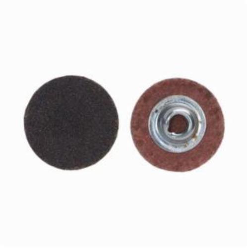 Merit® PowerLock® FlexEdge™ 08834161282 ALO Flexible Coated Abrasive Quick-Change Disc, 3 in Dia, 80 Grit, Coarse Grade, Aluminum Oxide Abrasive, Type TS (Type II) Attachment
