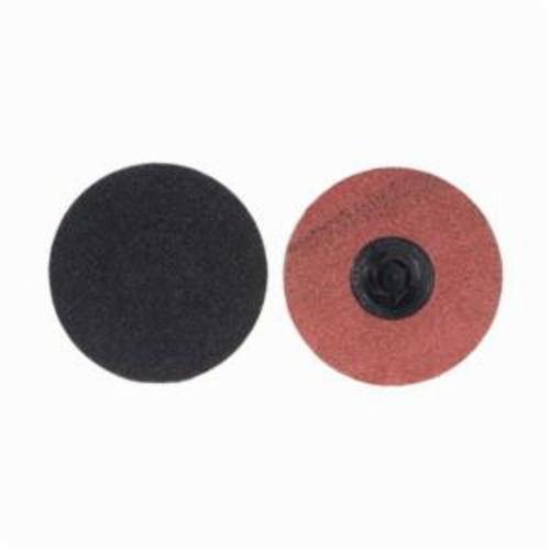 Merit® PowerLock® 08834162171 Coated Abrasive Quick-Change Disc, 2 in Dia, 120 Grit, Medium Grade, Silicon Carbide Abrasive, Type TP (Type I) Attachment
