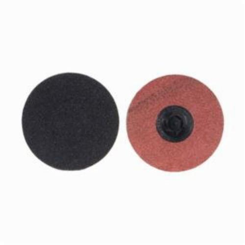 Norton® Merit® PowerLock® 08834162190 Coated Abrasive Quick-Change Disc, 3 in Dia, 120 Grit, Medium Grade, Silicon Carbide Abrasive, Type TP (Type I) Attachment