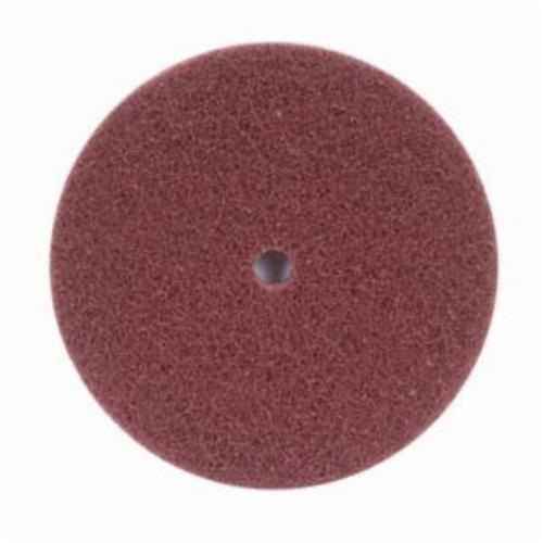 Merit® High Strength 08834162410 Non-Woven Abrasive Disc, 6 in Dia x 1/2 in THK, Aluminum Oxide, Medium Grade