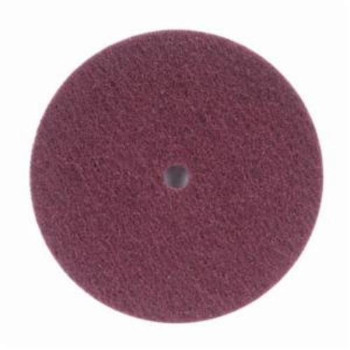 Merit® High Strength 08834162411 Non-Woven Abrasive Disc, 6 in Dia x 1/2 in THK, Aluminum Oxide, Very Fine Grade