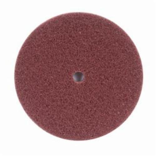 Norton® Merit® High Strength 08834162412 Non-Woven Abrasive Disc, 8 in Dia x 1/2 in THK, Aluminum Oxide, Medium Grade