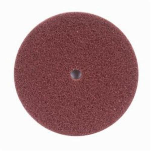 Norton® Merit® High Strength 08834162413 Non-Woven Abrasive Disc, 8 in Dia x 1/2 in THK, Aluminum Oxide, Very Fine Grade