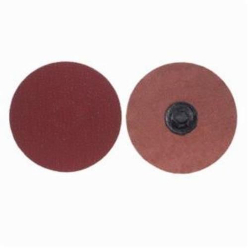 Norton® Merit® PowerLock® 08834163115 Ultra Ceramic Plus Coated Abrasive Quick-Change Disc, 1-1/2 in Dia, 50 Grit, Coarse Grade, Ceramic Alumina Abrasive, Type TP (Type I) Attachment