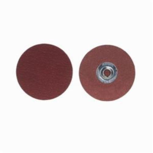 Merit® PowerLock® 08834163375 Ultra Ceramic Plus Coated Abrasive Quick-Change Disc, 1 in Dia, 40 Grit, Extra Coarse Grade, Ceramic Alumina Abrasive, Type TS (Type II) Attachment