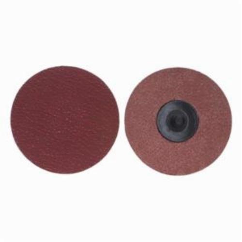 Norton® Merit® PowerLock® 08834163397 Ultra Ceramic Plus Coated Abrasive Quick-Change Disc, 3/4 in Dia, 120 Grit, Medium Grade, Ceramic Alumina Abrasive, Type TR (Type III) Attachment