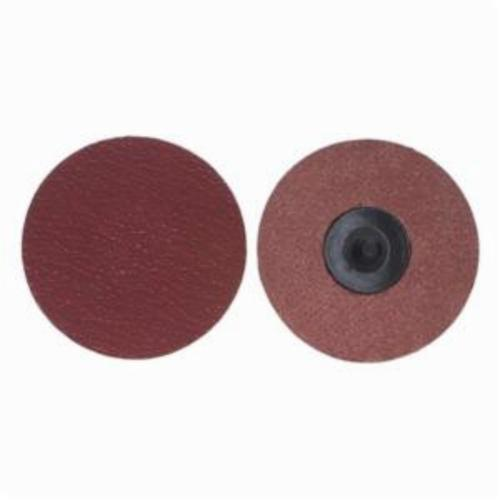 Merit® PowerLock® 08834163404 Ultra Ceramic Plus Coated Abrasive Quick-Change Disc, 1 in Dia, 120 Grit, Medium Grade, Ceramic Alumina Abrasive, Type TR (Type III) Attachment