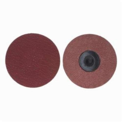 Merit® PowerLock® 08834163411 Ultra Ceramic Plus Coated Abrasive Quick-Change Disc, 2 in Dia, 50 Grit, Coarse Grade, Ceramic Alumina Abrasive, Type TR (Type III) Attachment