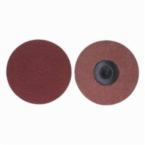 Merit® PowerLock® 08834163417 Ultra Ceramic Plus Coated Abrasive Quick-Change Disc, 4 in Dia, 40 Grit, Extra Coarse Grade, Ceramic Alumina Abrasive, Type TR (Type III) Attachment