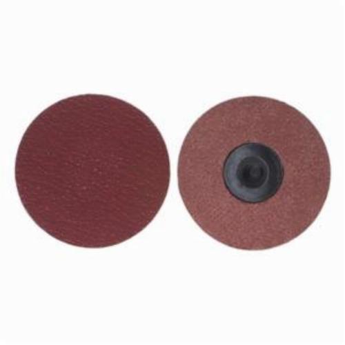 Merit® PowerLock® 08834163418 Ultra Ceramic Plus Coated Abrasive Quick-Change Disc, 4 in Dia, 50 Grit, Coarse Grade, Ceramic Alumina Abrasive, Type TR (Type III) Attachment