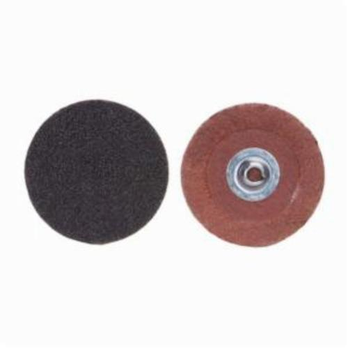 Merit® PowerLock® FlexEdge™ 08834163721 ALO Flexible Coated Abrasive Quick-Change Disc, 2 in Dia, 50 Grit, Coarse Grade, Aluminum Oxide Abrasive, Type TS (Type II) Attachment