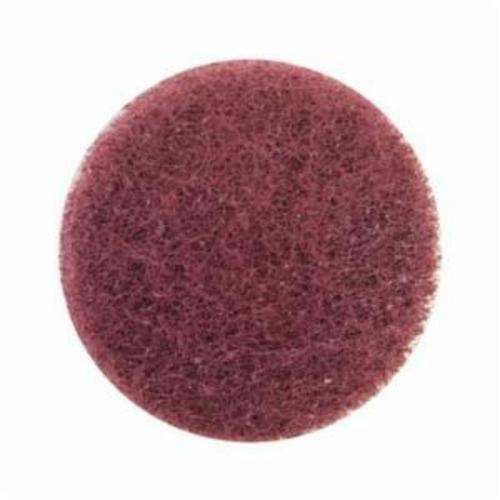 Merit® High Strength 08834163987 Quick-Change Non-Woven Abrasive Disc, 2 in Dia, Type TR (Type III) Attachment, Aluminum Oxide, Very Fine Grade