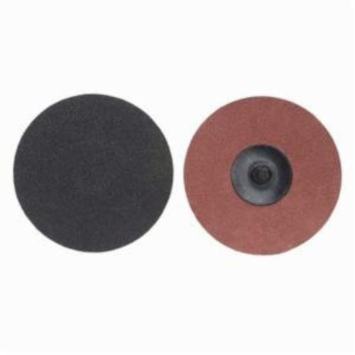 Merit® PowerLock® 08834164163 Coated Abrasive Quick-Change Disc, 2 in Dia, 60 Grit, Coarse Grade, Silicon Carbide Abrasive, Type TR (Type III) Attachment