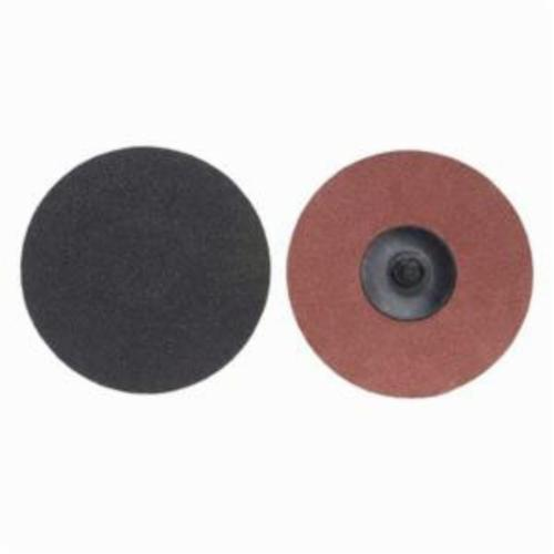 Merit® PowerLock® 08834164275 Coated Abrasive Quick-Change Disc, 2 in Dia, 40 Grit, Extra Coarse Grade, Silicon Carbide Abrasive, Type TR (Type III) Attachment
